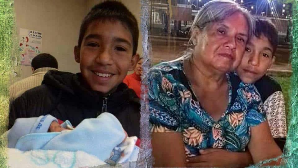 """Carta de la abuela de Facundo """"mataron a mi negrito"""""""