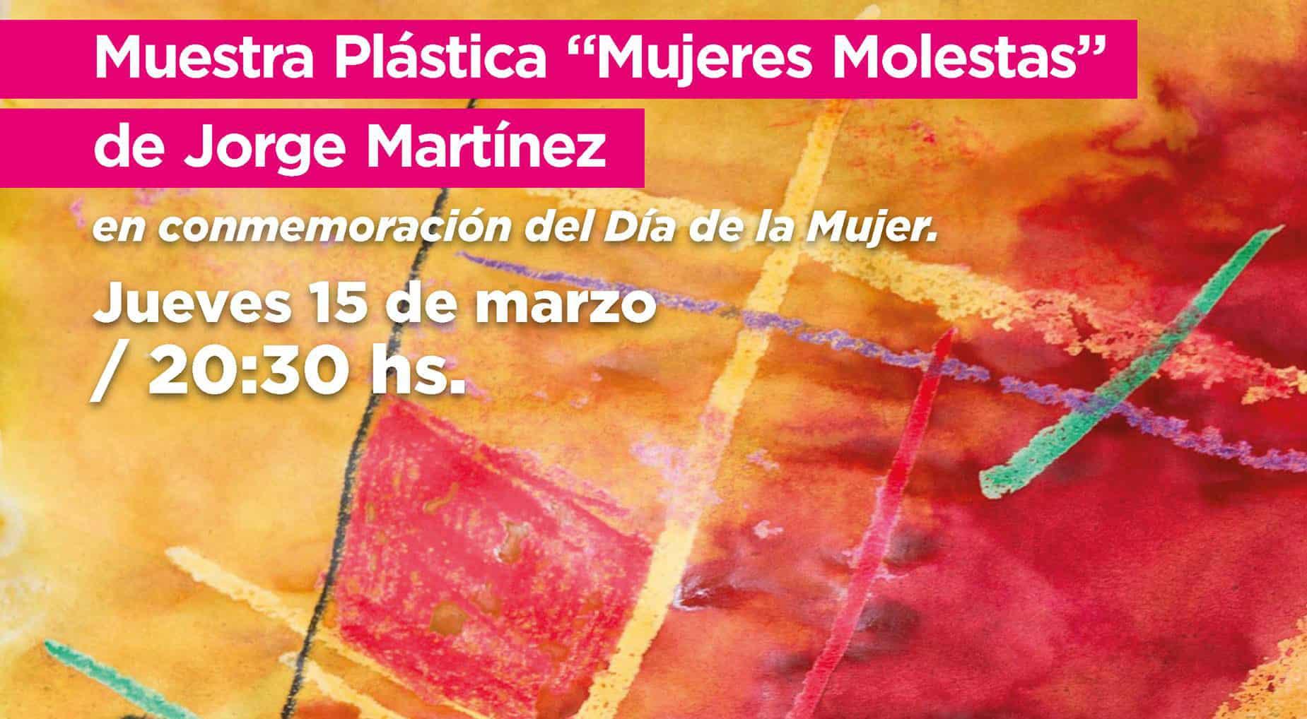 """Muestra plástica """"Mujeres Molestas"""" en el ETI de Ituzaingó"""