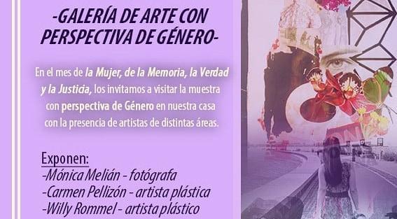 Muestra sobre la mujer en Ituzaingó