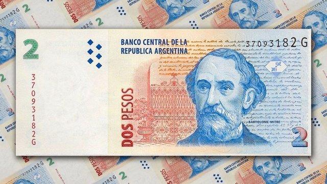 El 1 de mayo los billetes de 2 pesos ya no tendrán valor