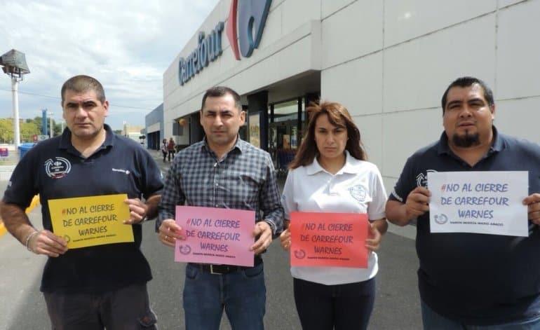 El gobierno avaló la crisis de Carrefour y le pagaran a los despedidos el 50% de la indemnización