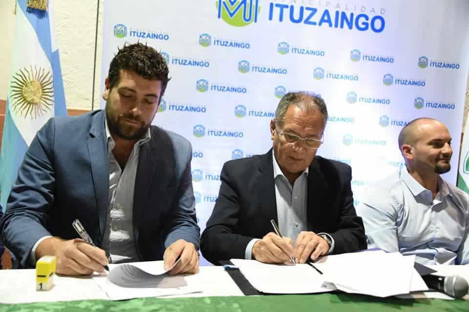 El Club Atlético Ituzaingó recibió 2.000.000 millones de pesos para terminar su ciudad deportiva