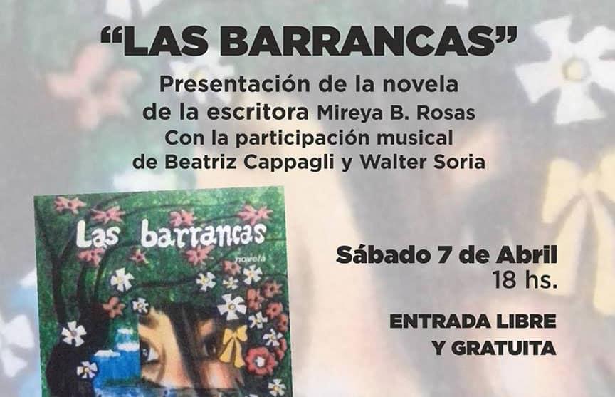 """Mañana se presentará en Ituzaingó el libro """"Las barrancas"""""""