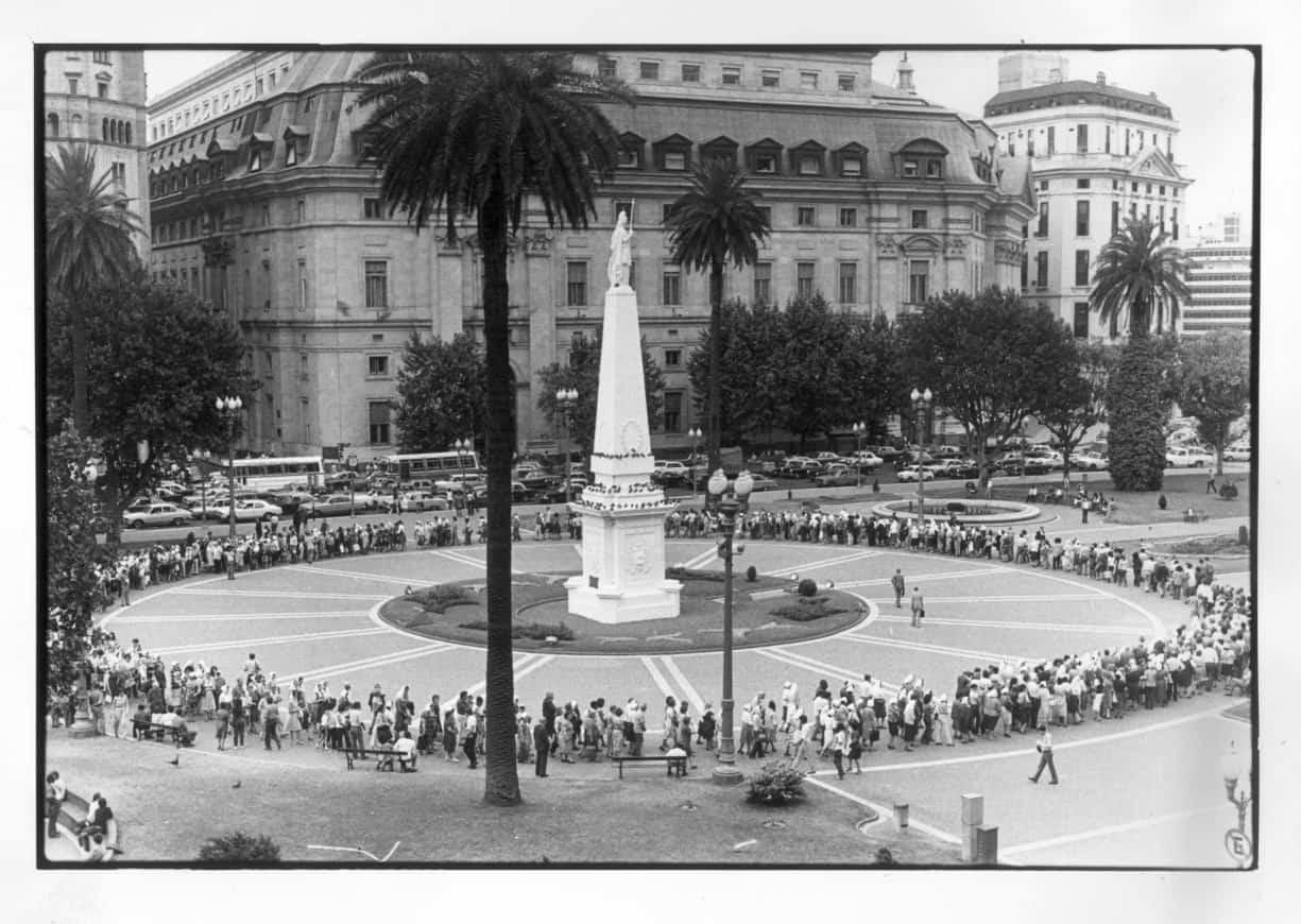 Los 41 años de las Madres de Plaza de Mayo