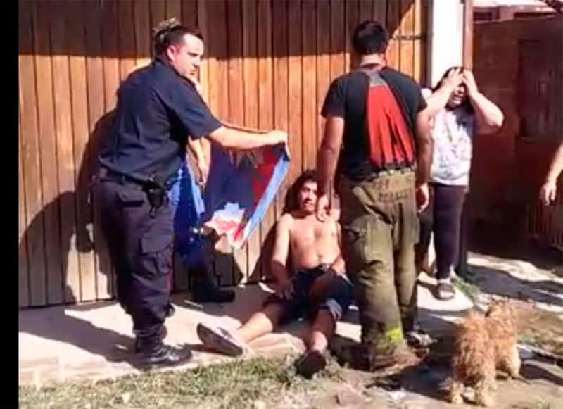 Dos tragedias en una semana: Se incendió una vivienda en el mismo pasillo donde murió Romelia Dos Santos