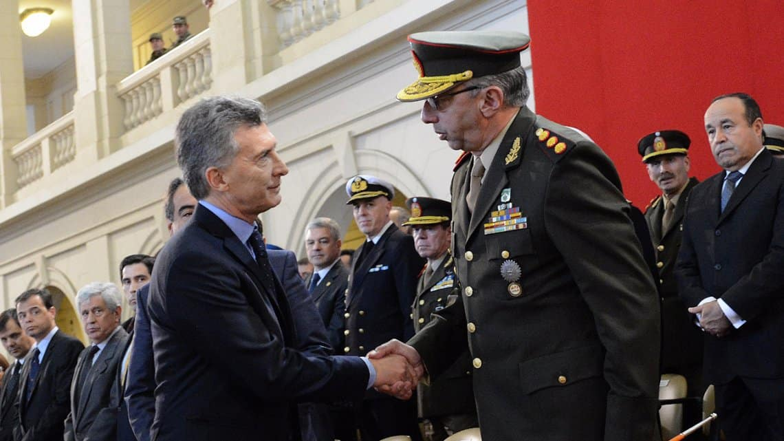 Urgente: Mauricio Macri les pidió a las Fuerzas Armadas que participen en temas de seguridad interior