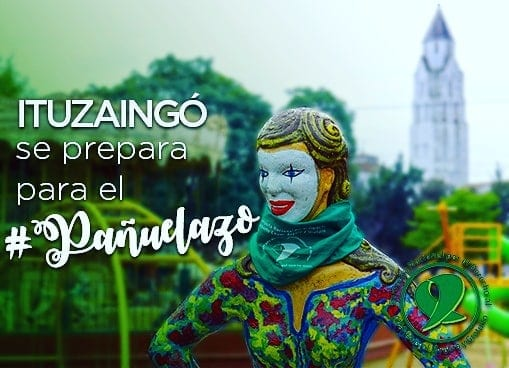 """Aborto: mañana habrá un """"Pañuelazo"""" en la Plaza 20 de Febrero"""