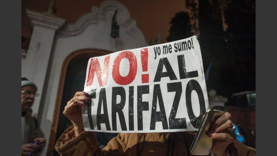 Mañana habrá una nueva movilización contra el tarifazo