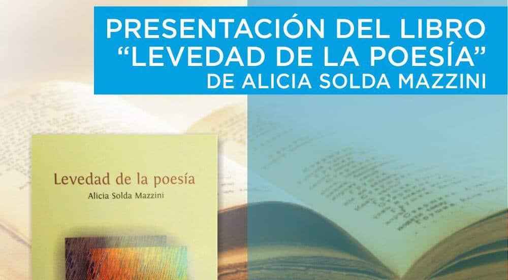 """La escritora Alicia Solda presentará mañana su libro """"Levedad de la Poesía"""" en Ituzaingó"""