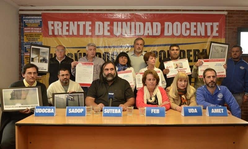 Jueves y viernes paro docente en la Provincia de Buenos Aires