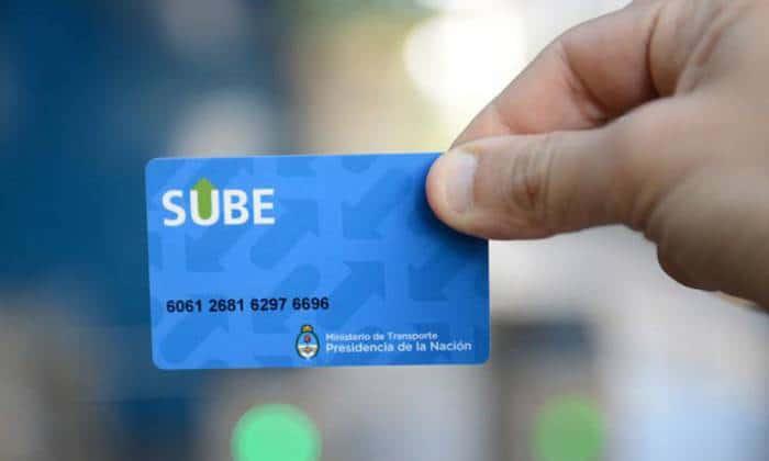 SUBE: Aumento del saldo negativo y del costo de la tarjeta
