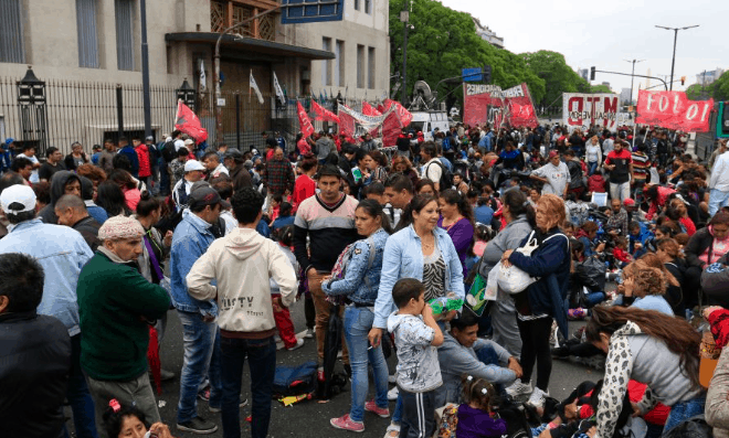 Organizaciones sociales se movilizarán el 12 de Julio en reclamo de políticas de empleo