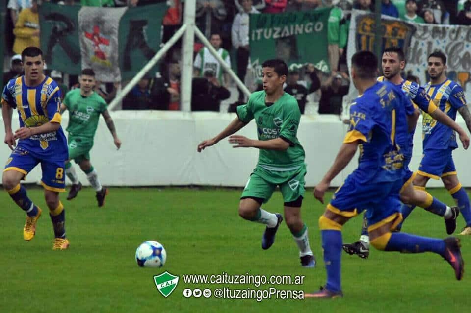 Ituzaingó debutó con un empate