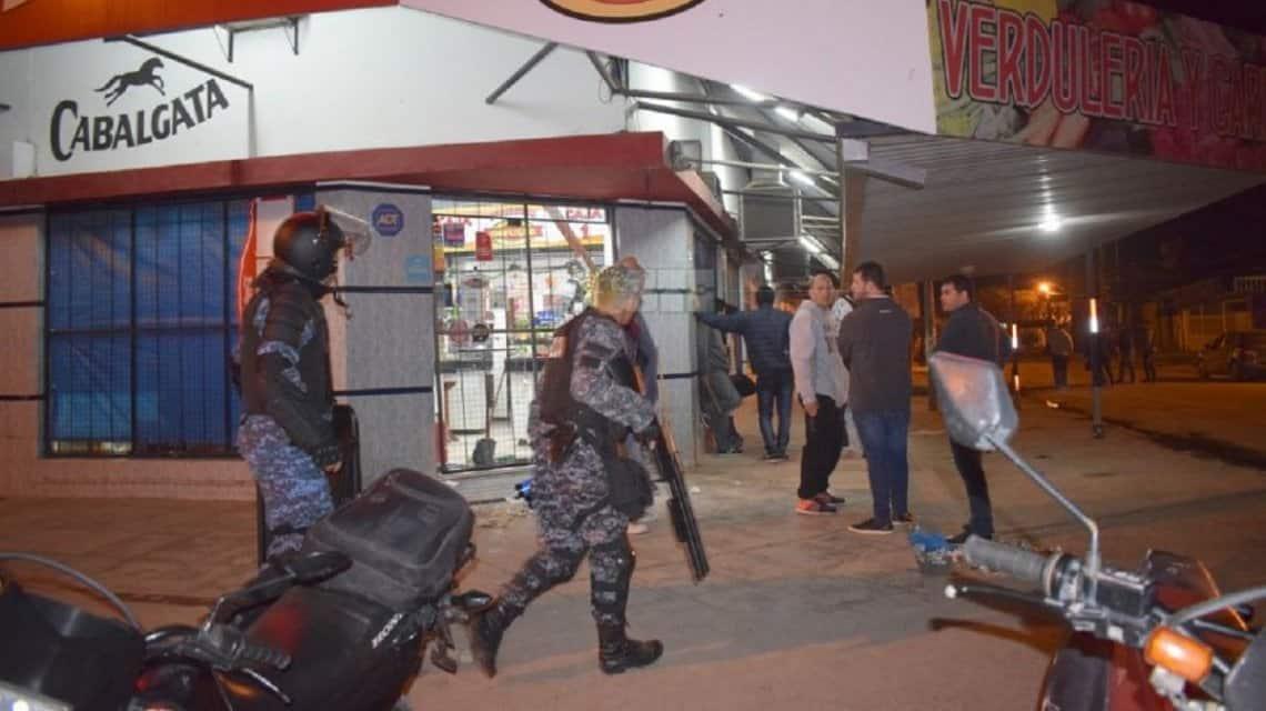 La policía mata a un niño de 15 años en un intento de saqueo en Chaco