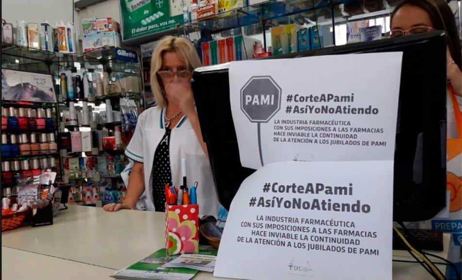 Farmacias: se agrava el conflicto con el PAMI y mañana no habrá descuento en ningún medicamento