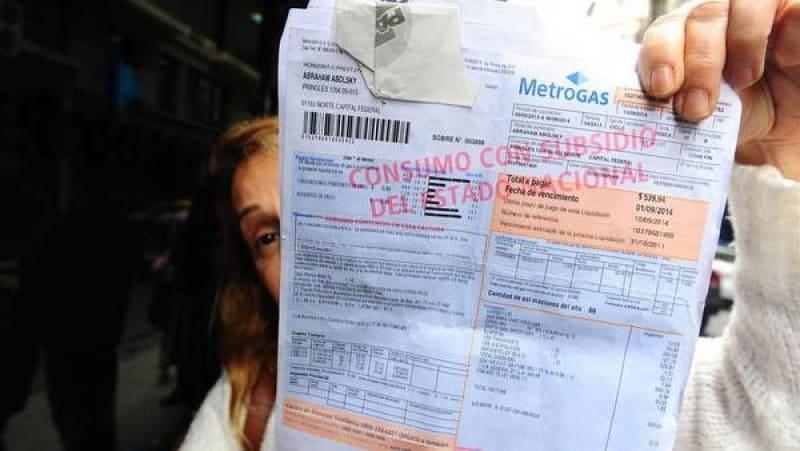 Marcha atrás: el gobierno no le cobrará a los usuarios el cargo retroactivo del gas