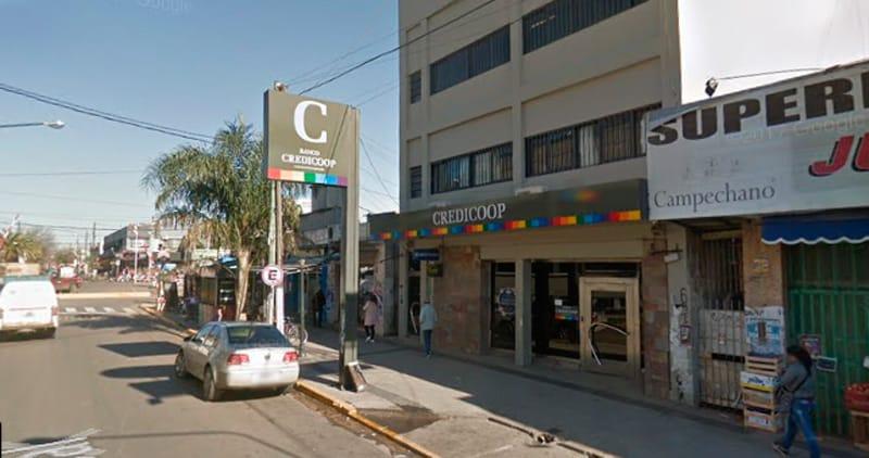 Ituzaingó: salidera bancaria en el Credicoop, la policía apresó a los delincuentes