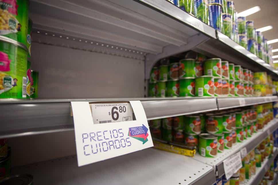 Los productos de Precios Cuidados brillan por su ausencia