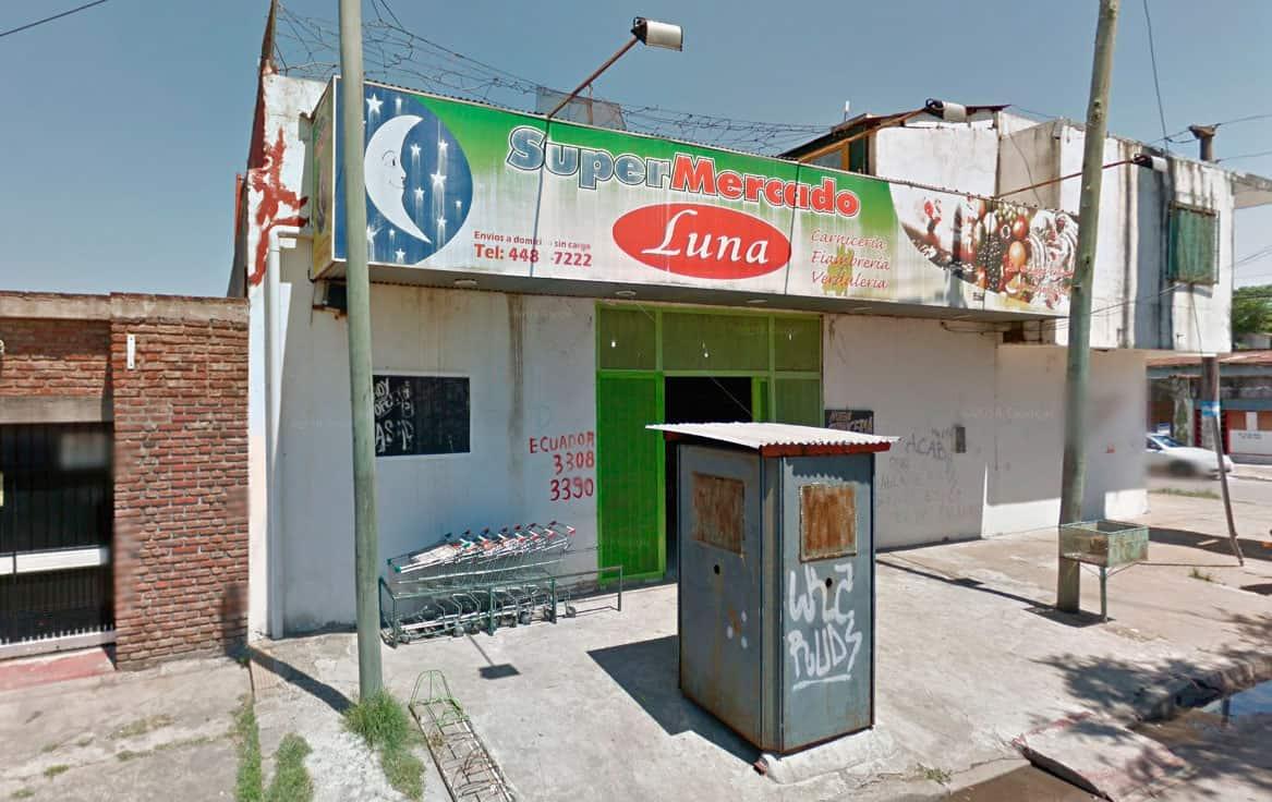 Intentaron saquear un supermercado chino en Ituzaingó