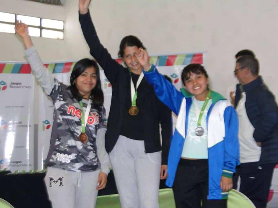Brenda Rocha, medalla de Plata en los Juegos Bonaerenses