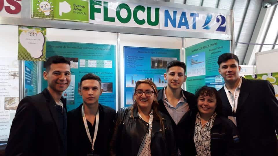 Los alumnos de la Técnica N°1 siguen ganando y competirán en la Feria Nacional de Ciencias