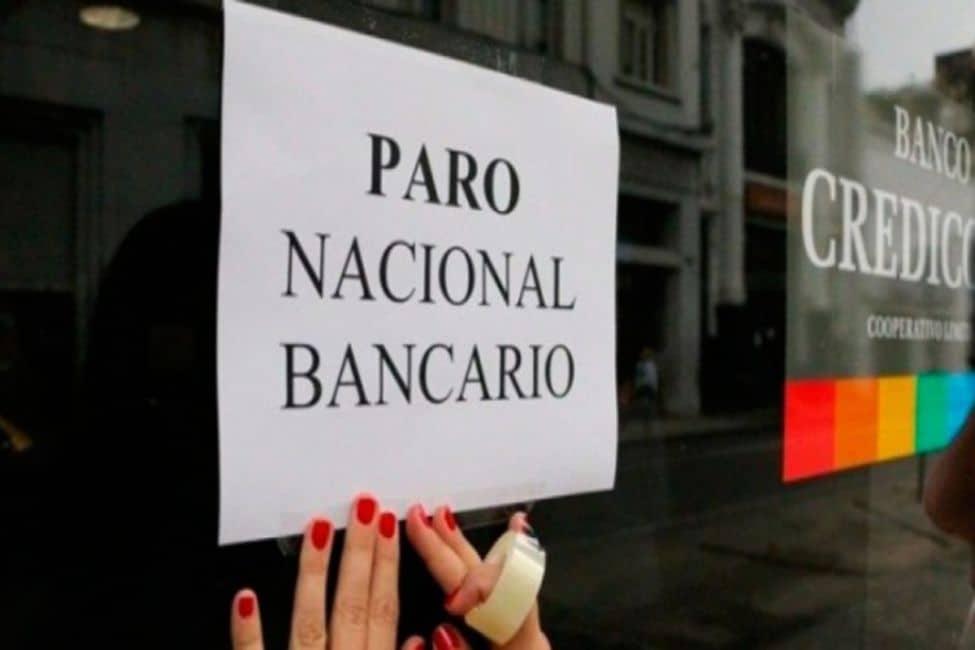 El miércoles tampoco habrá bancos, paro y movilización de la Bancaria contra el presupuesto