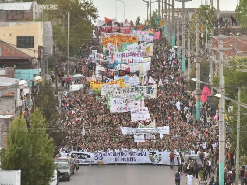 Encuentro Nacional de Mujeres: denuncian robos, agresiones y amenazas