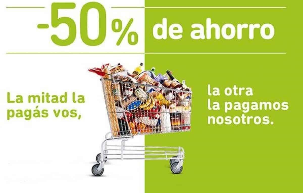 Hoy habrá descuentos del 50% en las compras con tarjetas del Banco Provincia