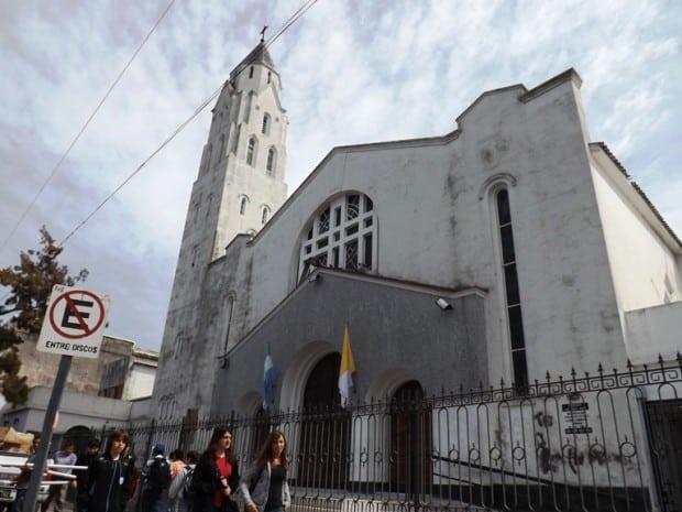 Esta noche habrá un video mapping sobre la iglesia San Judas Tadeo
