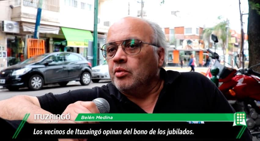 ¿Que opinan los Ituzainguenses del bono a los jubilados y pensionados?