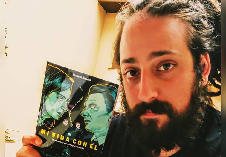 """Nazareno Roviello presenta su libro """"Mi Vida Con Él"""""""