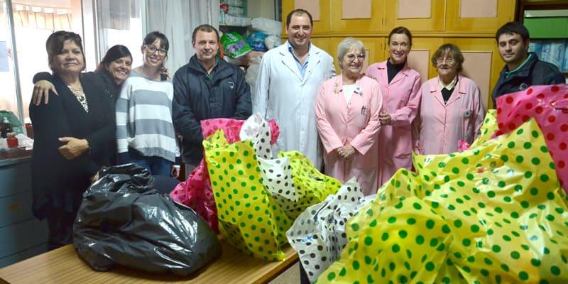 El Hospital Posadas realiza una colecta de juguetes para Navidad