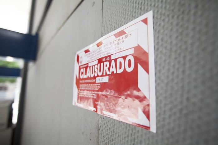 Clausuraron el Supermercado SUGO en pleno centro de Ituzaingó