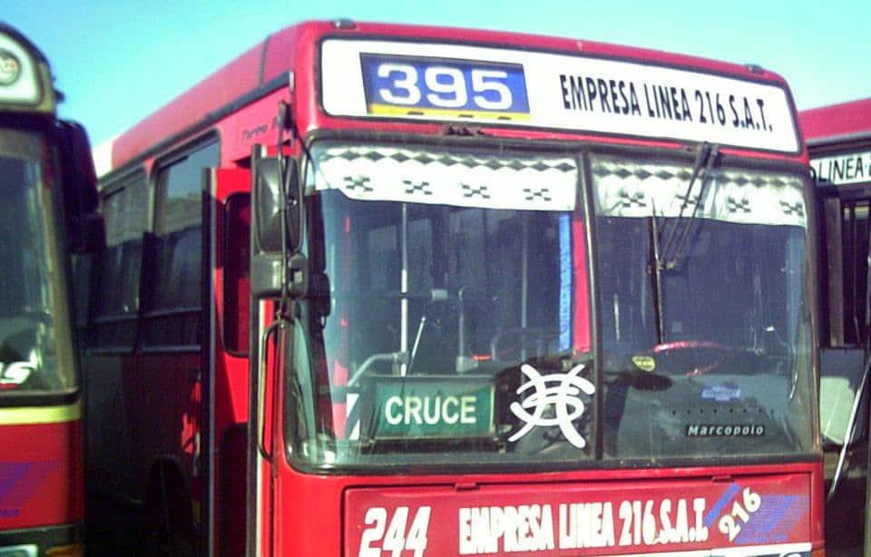 Ituzaingó: Otro asalto a un colectivo de la 216, le roban a los pasajeros y agreden al chofer