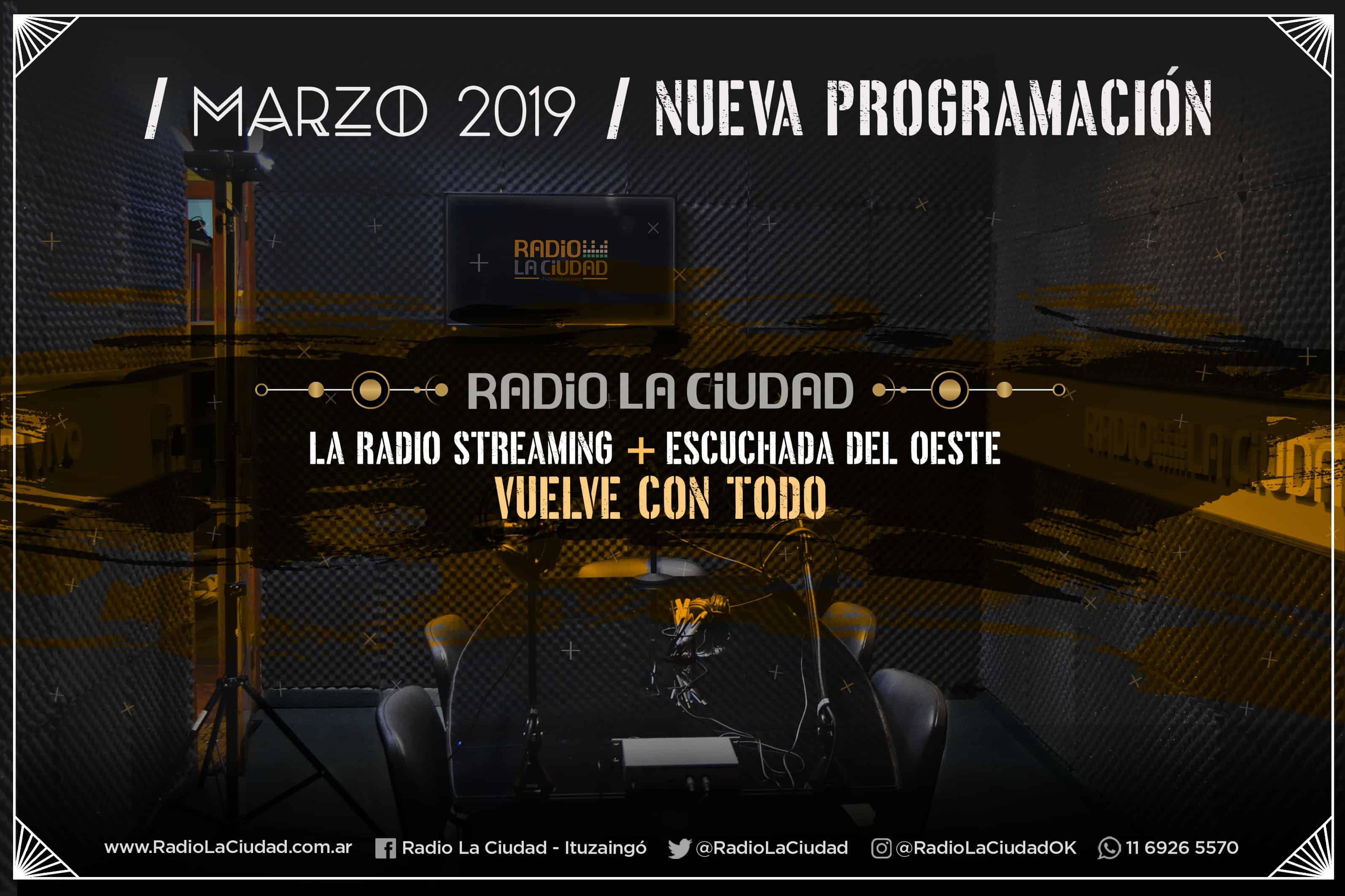 Radio La Ciudad, relanza su programación con el Rock como protagonista central