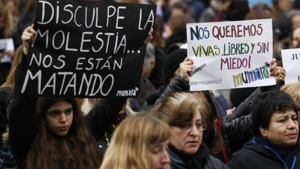 Basta ya: 43 femicidos en dos meses este año y 259 femicidios el año pasado (Un femicidio cada 34 horas)
