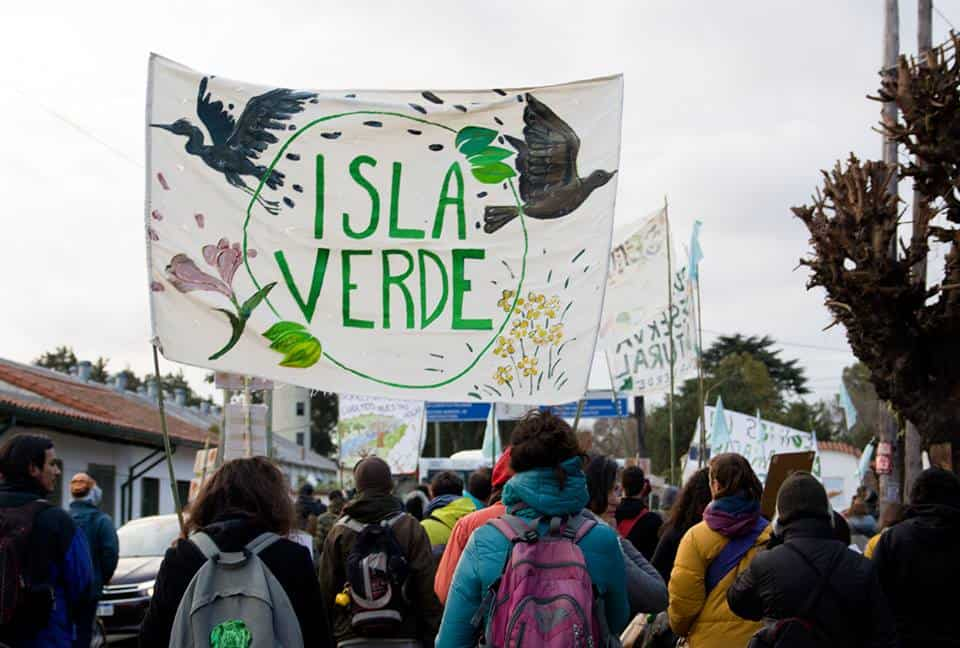 La organización ecológica Isla Verde adquirió la personería jurídica
