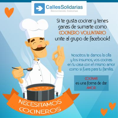 Calles Solidarias necesita alimentos no perecederos para seguir ayudando a personas en situación de calle 4