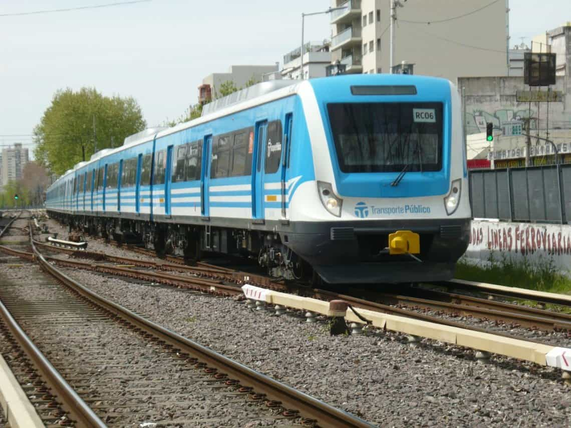 Mañana domingo el servicio del Tren Sarmiento será limitado