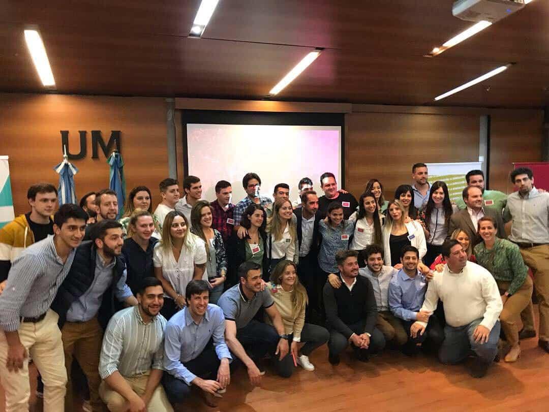 Di Castelnuovo y Tagliaferro inauguraron un espacio de formación política en la UM