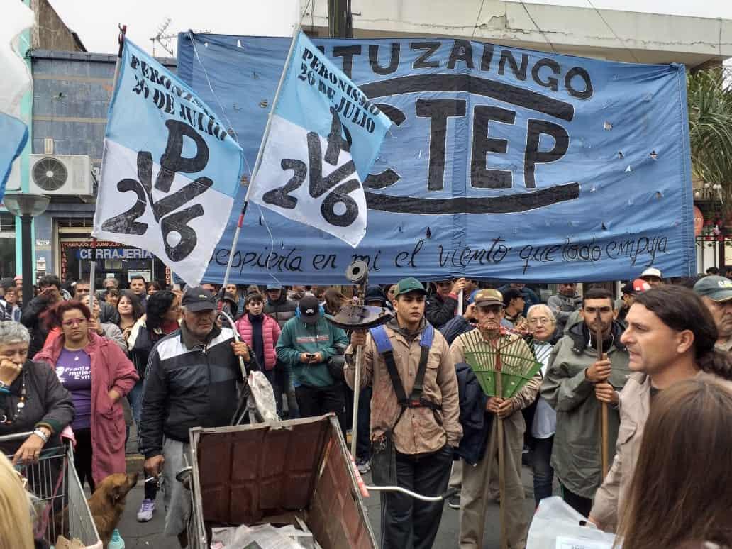 Organizaciones Sociales se movilizan al centro de Ituzaingó frente al ANSES