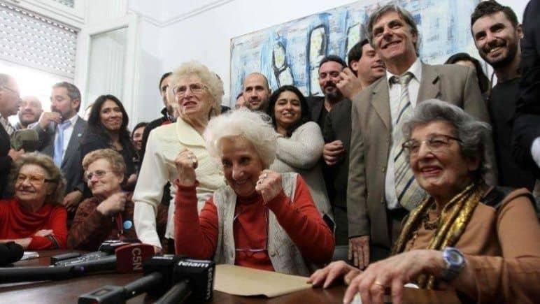Las abuelas encontraron otra nieta, la 129