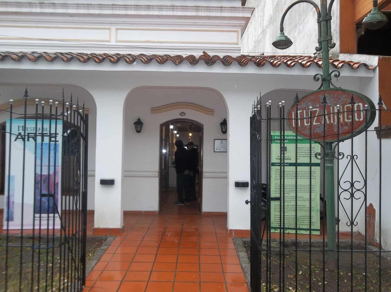 Laura Spoliansky presenta su obra en el Museo Histórico de Ituzaingó
