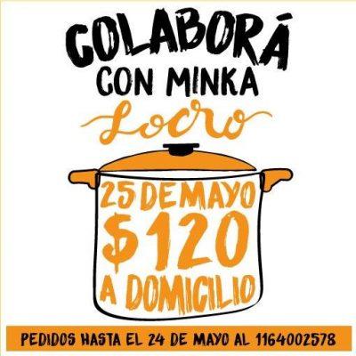 Minka organiza un locro solidario para el sábado 25 de mayo 2