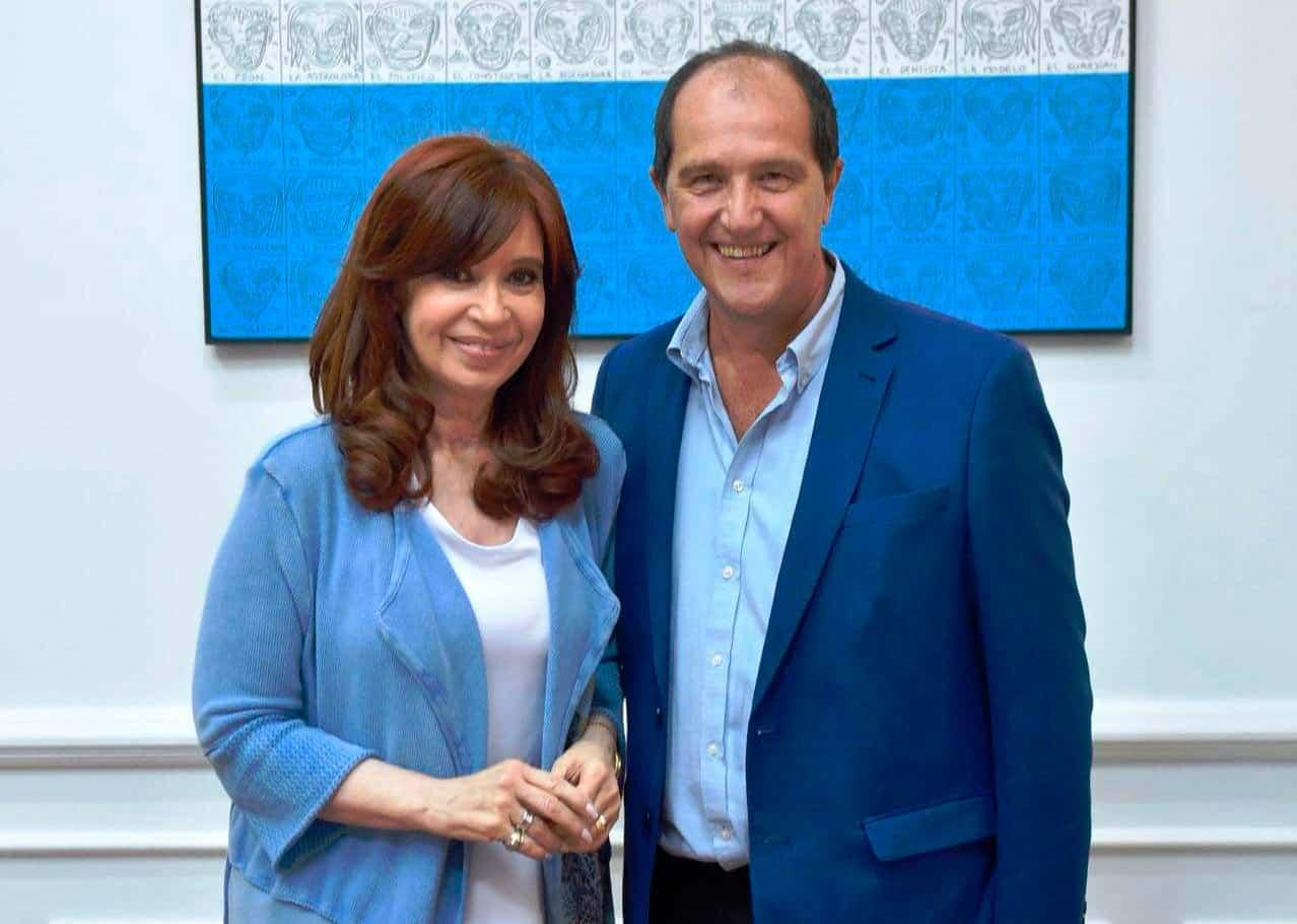 Ariel Basteiro se reunió con Cristina en el Instituto Patria