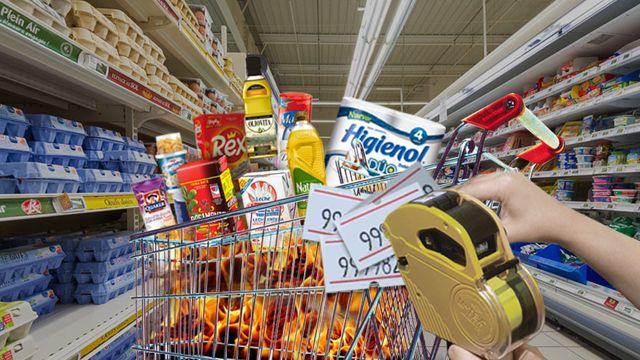Argentina hoy: remarcación generalizada de precios en los productos de venta masiva y desabastecimiento