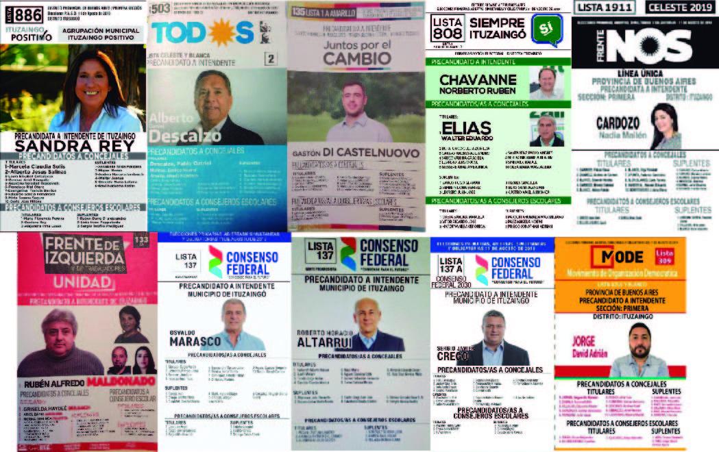 Elecciones PASO en Ituzaingó: Qué se vota y quiénes son los 11 candidatos locales