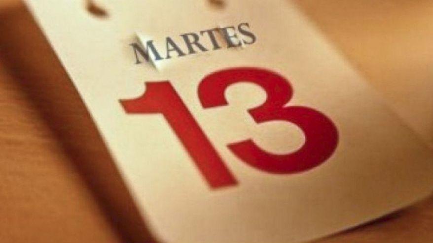 Martes 13: ¿Por qué existe la trezidavomartiofobia?