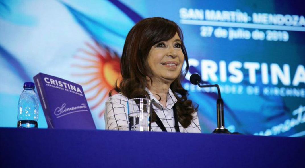 Por cuestiones climáticas se suspende el acto de Cristina en Ituzaingó