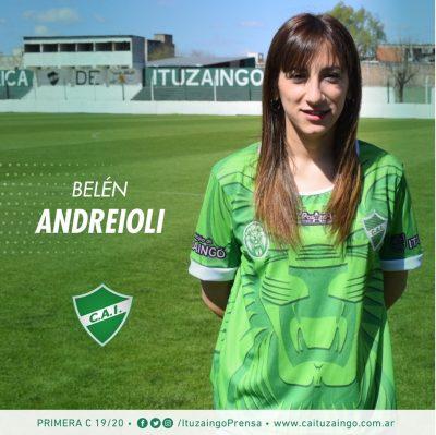 Las Leonas se presentan: hoy Belén Andreioli 2